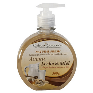 Jabón Líquido Avena. Leche y Miel 300 ml