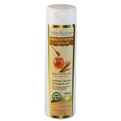 Crema Nutritiva Capilar de Manzanilla. Miel y Germen de Trigo 250 ml