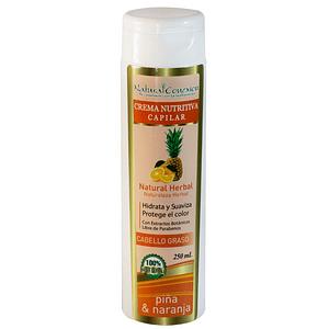 Crema Nutritiva Capilar de Piña y Naranja 250 ml