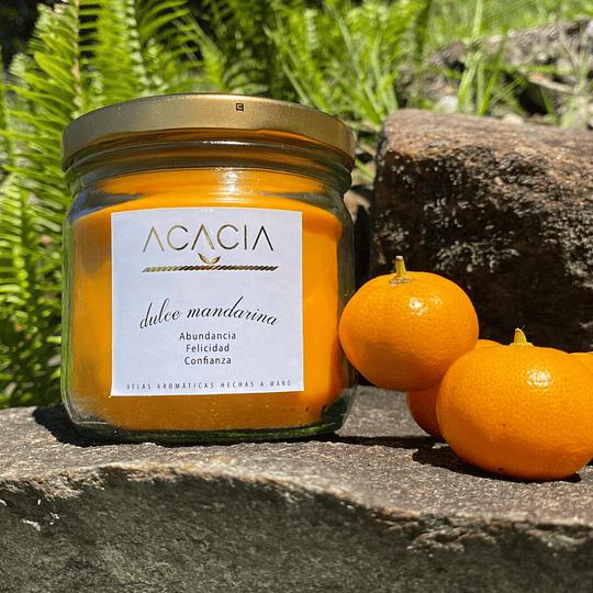 Vela Artesanal Mandarina 450 ml