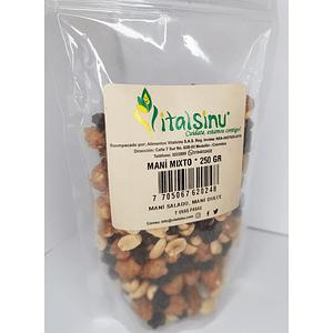 Maní Mixto (Dulce. Salado y pasas) 250 g
