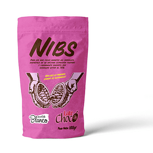 Snacks Nibs de Cacao Chocolate blanco 100 g
