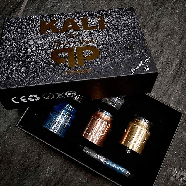 New KALi V2 Brass Copper RDA/RSA