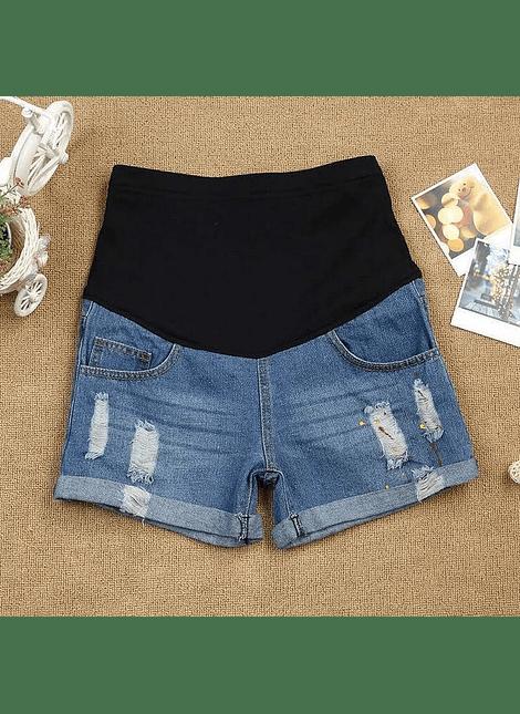 short jeans manchas