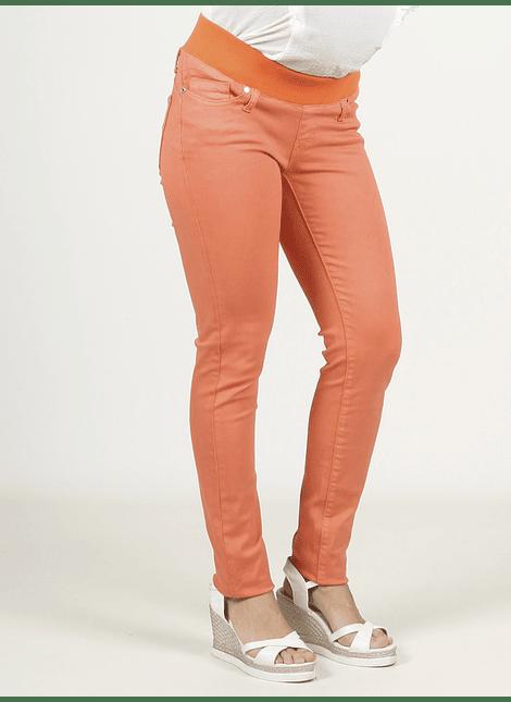 Pantalón básico naranjo