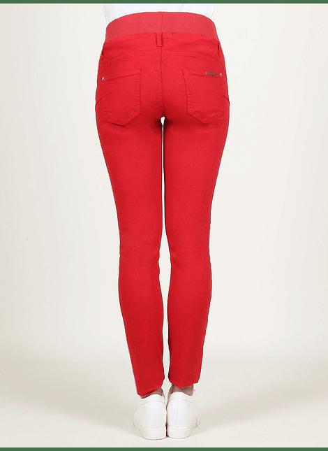 Pantalón básico rojo