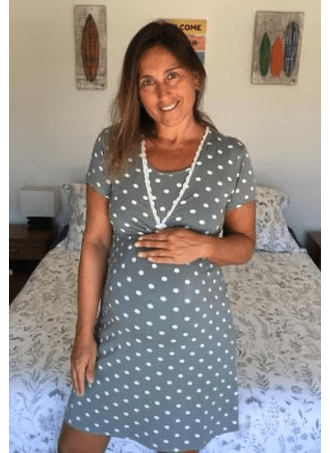 Camisa dormir margarita puntos Oliva