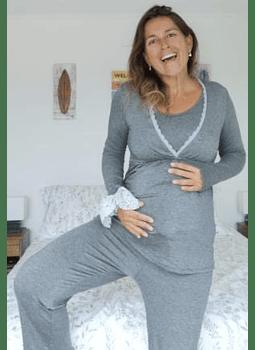 Pijama Sol gris