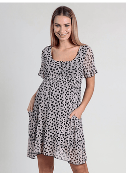 Vestido Lactancia estampado Animal Print