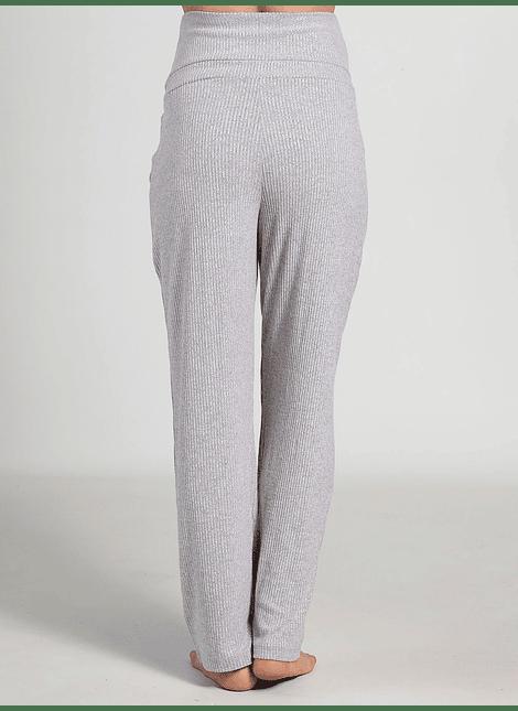 Pantalón ancho de rib