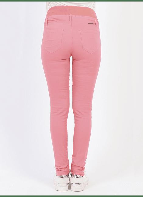 Pantalón básico Coral con cintura baja