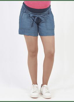 Short jeans azul suelto