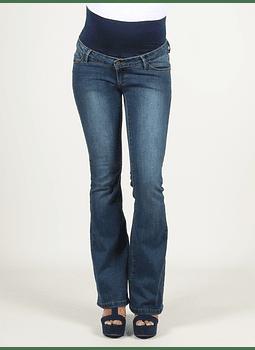 Jeans campana cintura alta