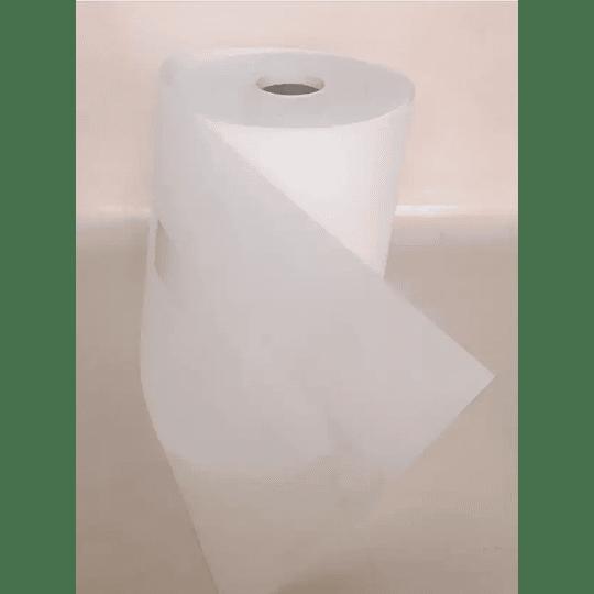 Rollo 100ml de Cinta Unión Para Pasto Sintético - Papel Fibra Blanco
