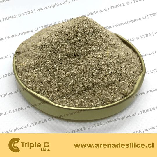 Arena Sílice Para Pasto Sintético 0.2 a 0.63 mm
