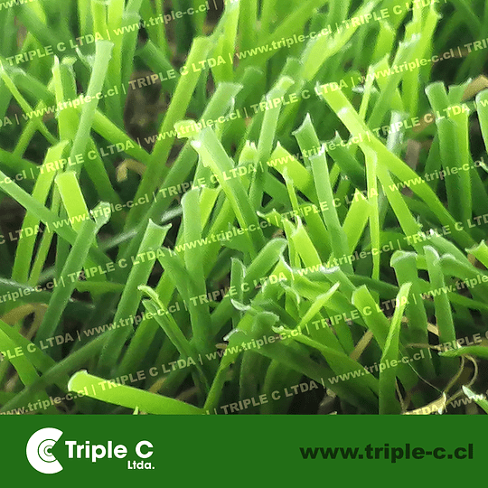 35mm - Grass sintético precio para rollo de 4x25 m2