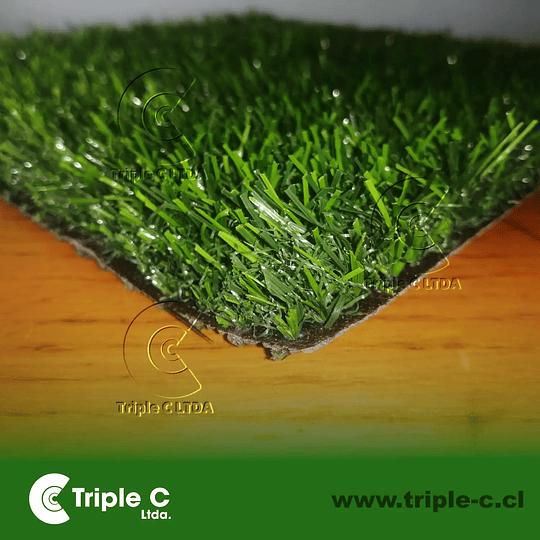 25mm - Venta de pasto sintético en rollo de 2x25 m2