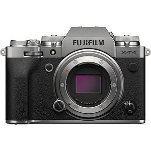 FUJIFILM X-T4 Body Cámara Mirrorless (Silver)