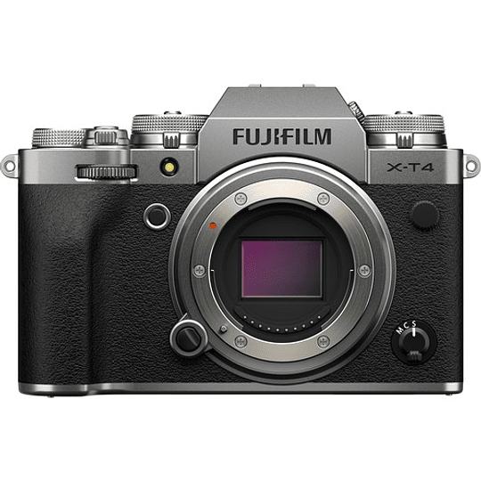 FUJIFILM X-T4 Body Cámara Mirrorless (Silver) - Image 1