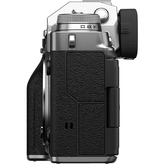 FUJIFILM X-T4 Body Cámara Mirrorless (Silver) - Image 4