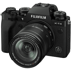 FUJIFILM X-T4 Kit Cámara Mirrorless con Lente 18-55mm (Black)