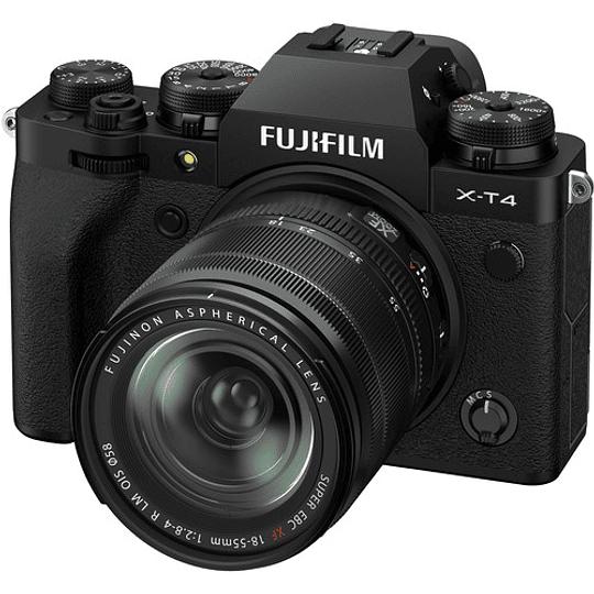 FUJIFILM X-T4 Kit Cámara Mirrorless con Lente 18-55mm (Black) - Image 1