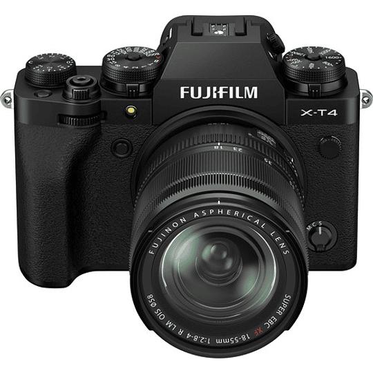 FUJIFILM X-T4 Kit Cámara Mirrorless con Lente 18-55mm (Black) - Image 2