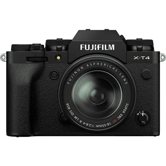 FUJIFILM X-T4 Kit Cámara Mirrorless con Lente 18-55mm (Black) - Image 3