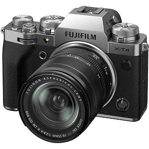 FUJIFILM X-T4 Kit Cámara Mirrorless con Lente 18-55mm (Silver)