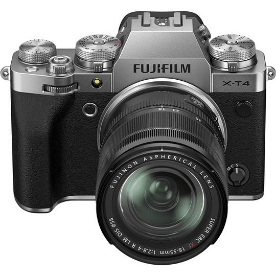 FUJIFILM X-T4 Kit Cámara Mirrorless con Lente 18-55mm (Silver) - Image 2