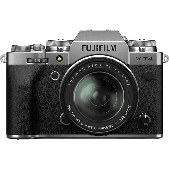 FUJIFILM X-T4 Kit Cámara Mirrorless con Lente 18-55mm (Silver) - Image 3