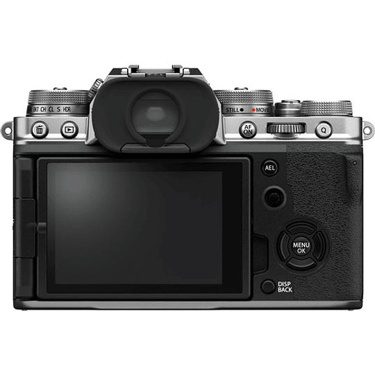 FUJIFILM X-T4 Kit Cámara Mirrorless con Lente 18-55mm (Silver) - Image 4