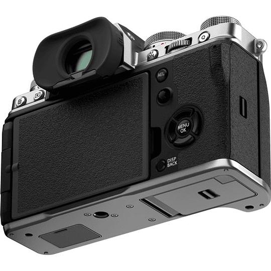 FUJIFILM X-T4 Kit Cámara Mirrorless con Lente 18-55mm (Silver) - Image 5