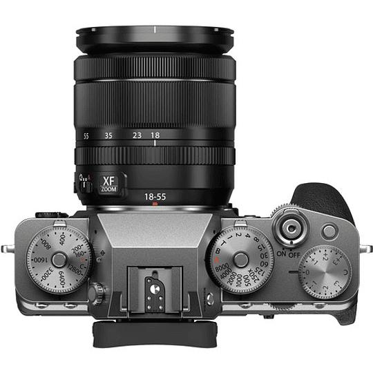 FUJIFILM X-T4 Kit Cámara Mirrorless con Lente 18-55mm (Silver) - Image 6