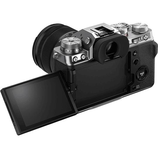 FUJIFILM X-T4 Kit Cámara Mirrorless con Lente 18-55mm (Silver) - Image 8