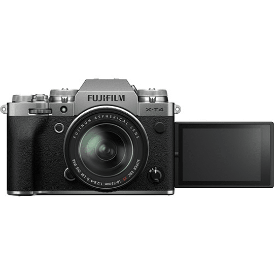 FUJIFILM X-T4 Kit Cámara Mirrorless con Lente 18-55mm (Silver) - Image 9