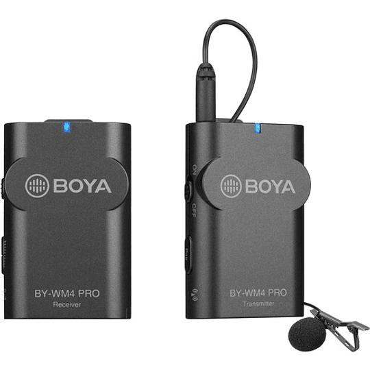 BOYA BY-WM4 PRO-K1 Micrófono Lavalier Wireless para Smartphone y Cámaras DSLR - Image 2