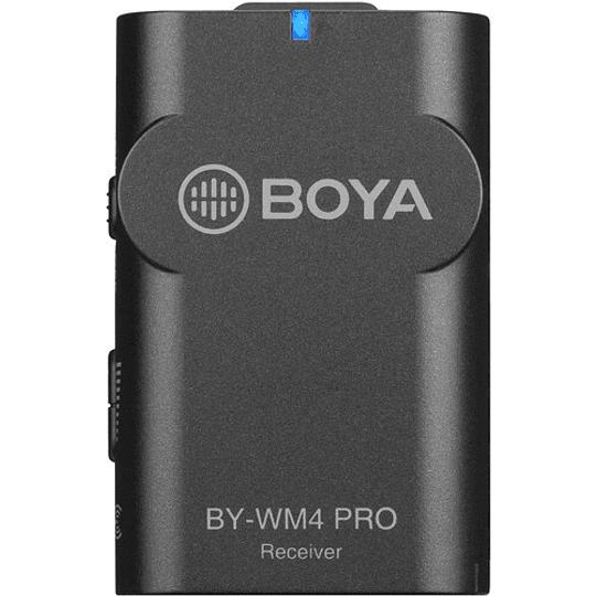 BOYA BY-WM4 PRO-K1 Micrófono Lavalier Wireless para Smartphone y Cámaras DSLR - Image 3