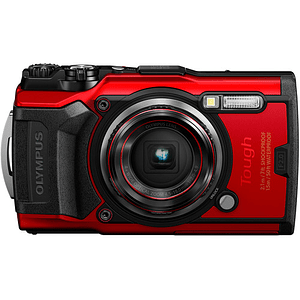 Olympus Tough TG-6 Cámara Digital (RED)