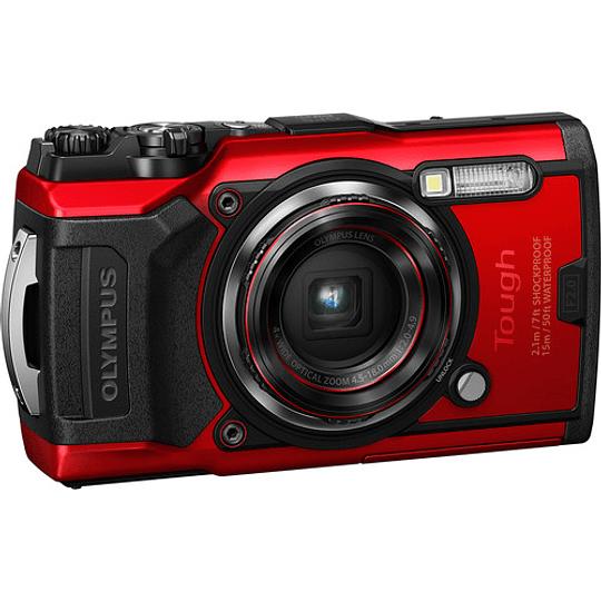 Olympus Tough TG-6 Cámara Digital (RED) - Image 2