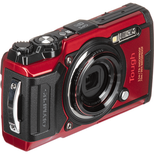 Olympus Tough TG-6 Cámara Digital (RED) - Image 3
