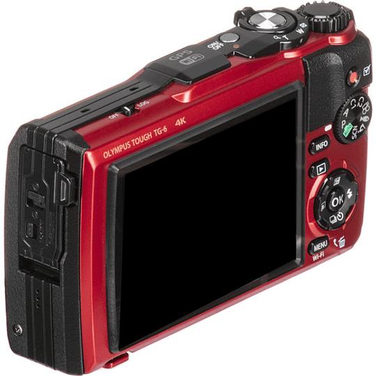 Olympus Tough TG-6 Cámara Digital (RED) - Image 4