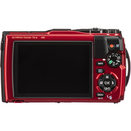 Olympus Tough TG-6 Cámara Digital (RED) - Image 5