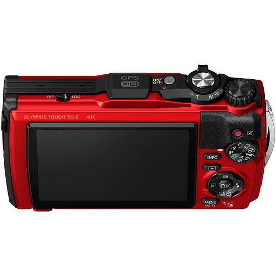 Olympus Tough TG-6 Cámara Digital (RED) - Image 6