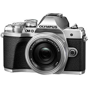 Olympus OM-D E-M10 Mark III KIT Cámara Mirrorless Micro Cuatro Tercios con Lente 14-42mm EZ (SILVER)