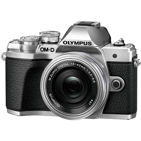 Olympus OM-D E-M10 Mark III KIT Cámara Mirrorless Micro Cuatro Tercios con Lente 14-42mm EZ (SILVER) - Image 1
