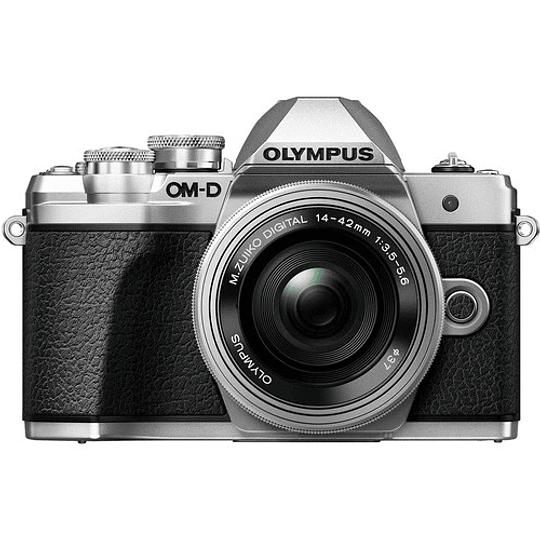 Olympus OM-D E-M10 Mark III KIT Cámara Mirrorless Micro 4/3 con Lentes 14-42mm EZ + 40-150mm R (SILVER) - Image 4