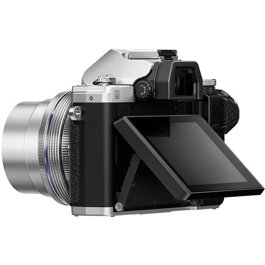 Olympus OM-D E-M10 Mark III KIT Cámara Mirrorless Micro Cuatro Tercios con Lente 14-42mm EZ (SILVER) - Image 6
