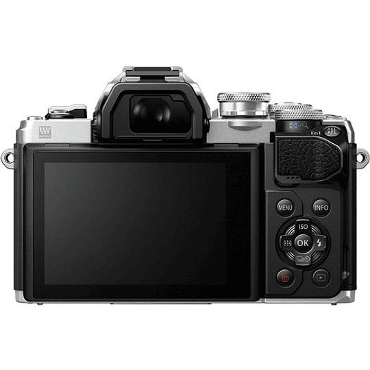 Olympus OM-D E-M10 Mark III KIT Cámara Mirrorless Micro Cuatro Tercios con Lente 14-42mm EZ (SILVER) - Image 8