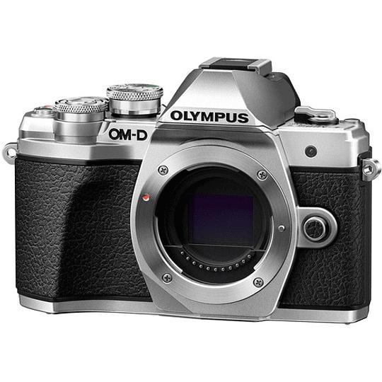 Olympus OM-D E-M10 Mark III KIT Cámara Mirrorless Micro 4/3 con Lentes 14-42mm EZ + 40-150mm R (SILVER) - Image 10